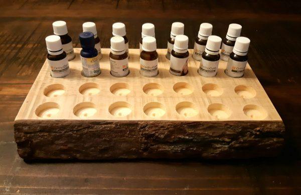 Présentoir pour huiles essentielles 39,95$ format 15 ml 1 dispo