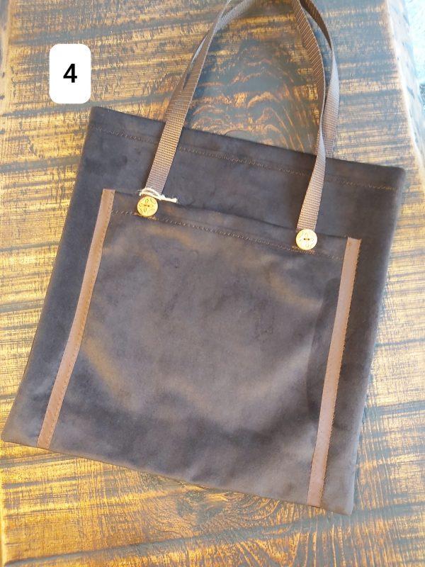 Tote bag brun 19,95$ Shipping 4,95$