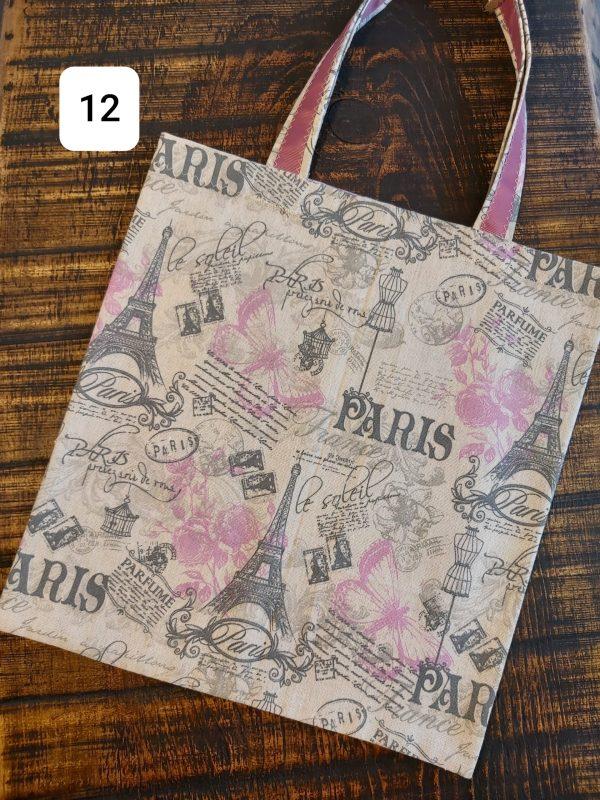 Tote bag Paris rose 14,95$ Shipping 4,95$