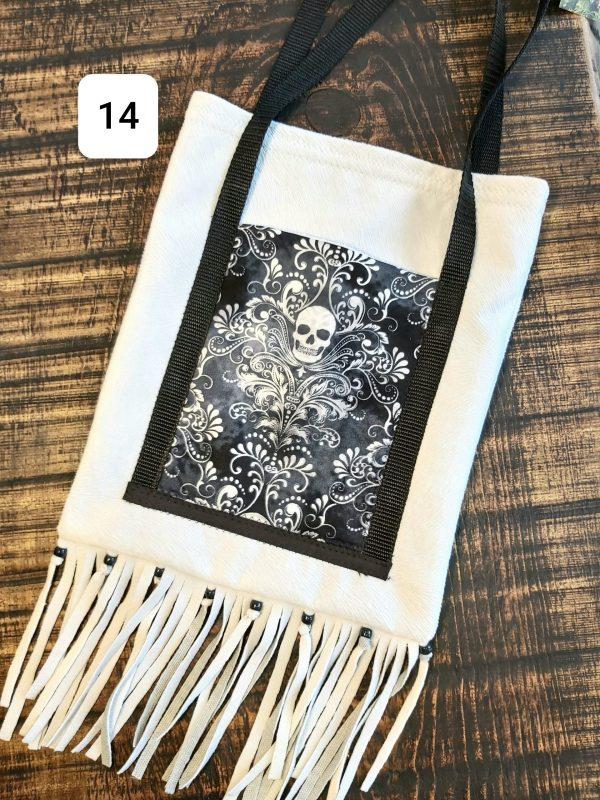 Collection Skull Tote bag marine et tête de mort 26,95$ Shipping 4,95$