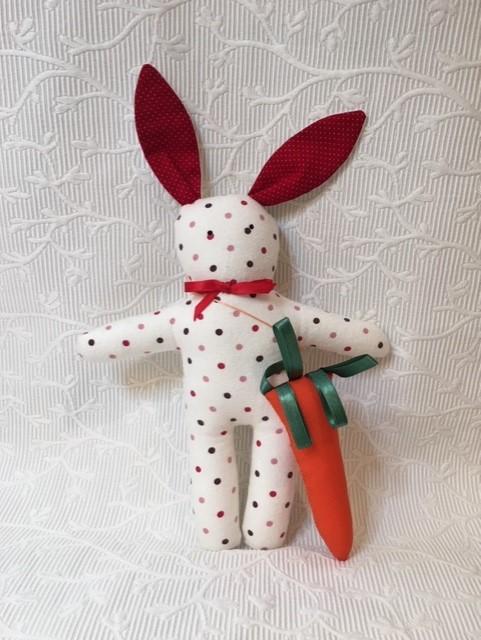 lapin carotte blanc