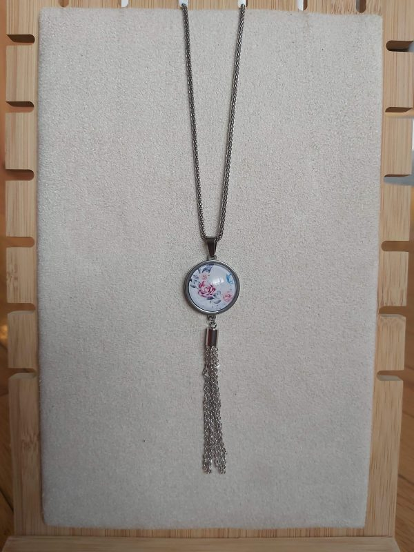 Collier rosies longues