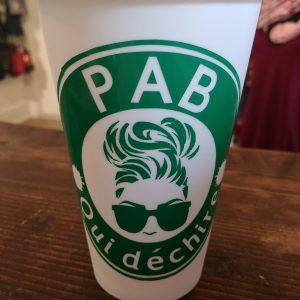 Tasse de transport - PAB qui déchire
