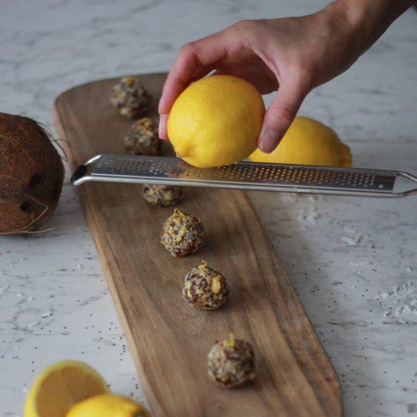 Boules d'énergie citron & cajou Boutique Passion Écolo