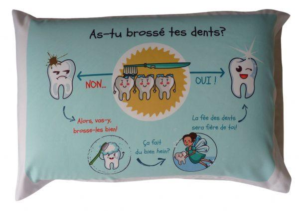 Taie d'oreiller - fée des dents